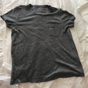 Madewell Tops - Madewell gray patch pocket T-shirt, Sz med